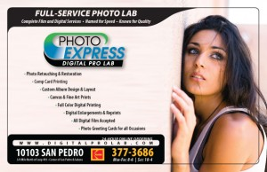 Photo Express - 2008 Miss San Antonio Pageant Ad