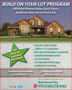 Wilshire Homes - Real Estate Newsline Ad