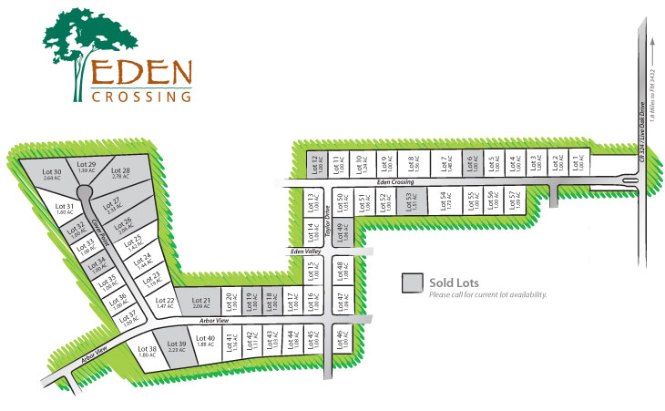Eden Crossing Map