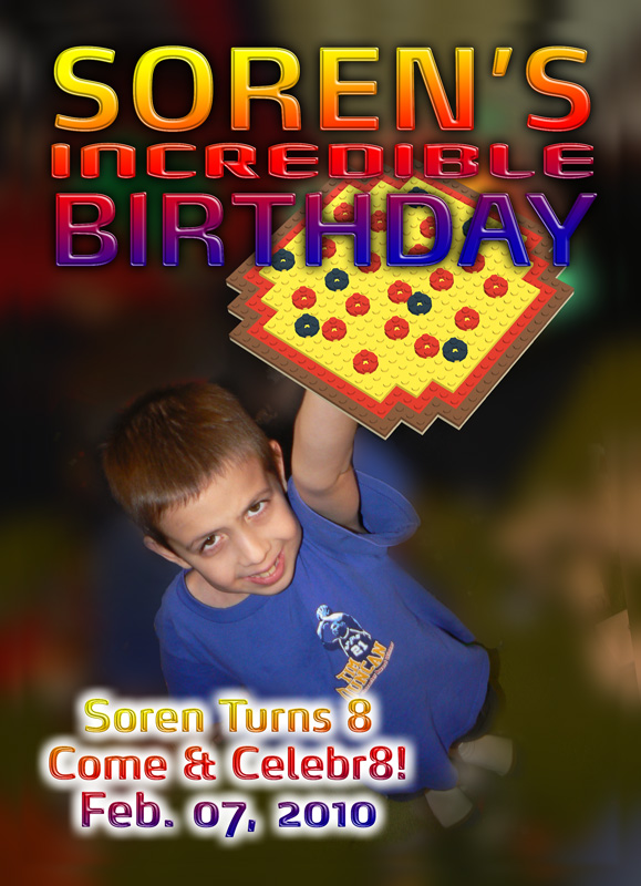 Soren's 8th Birthday