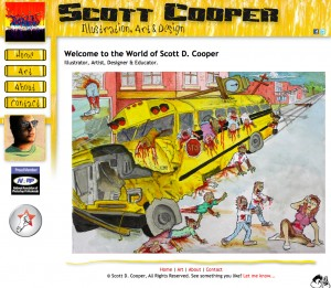Scott Cooper Web Site