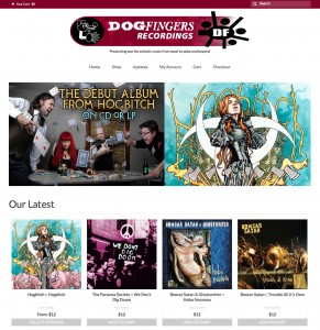 Dogfingers Website