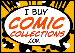 iBuyComicCollections.com logo | I Buy Comic Collections
