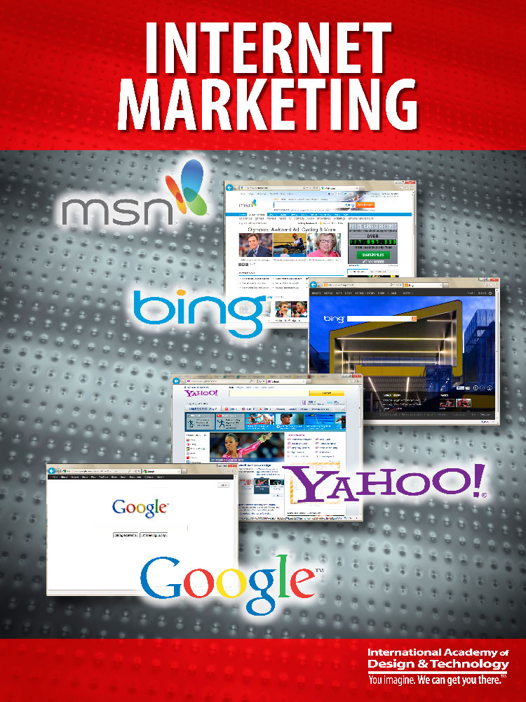 Internet Marketing Poster for IADT Lobby