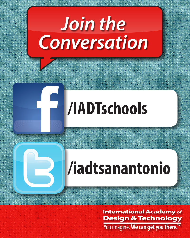 Social Media Poster for IADT Lobby